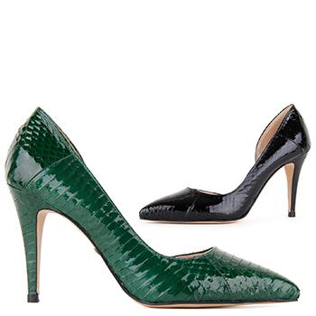 *BLEEN - green, 7cm, size UK 2.5