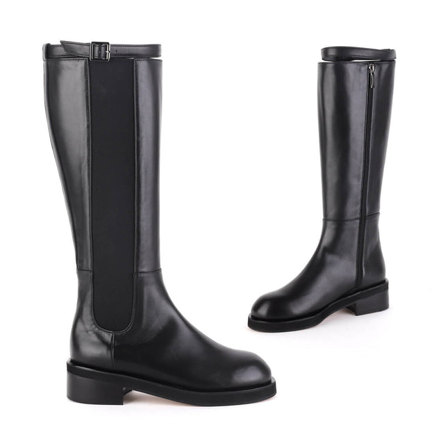 *CARA - black, 4cm size UK 2.5