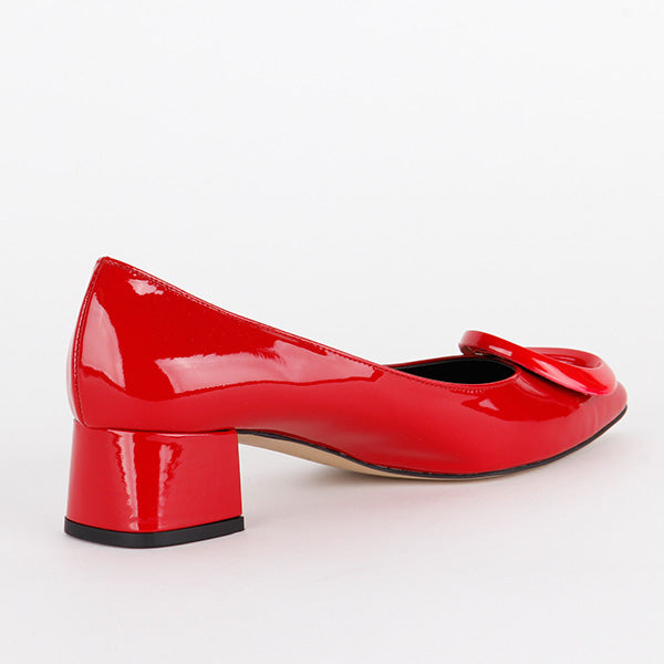 *CURIOUS - red, 4cm, size 33
