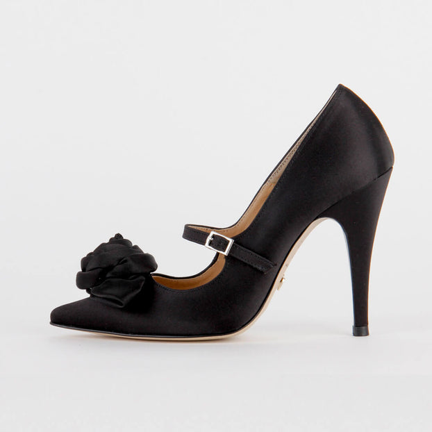 *ROSSA - black, 10cm, size UK 1