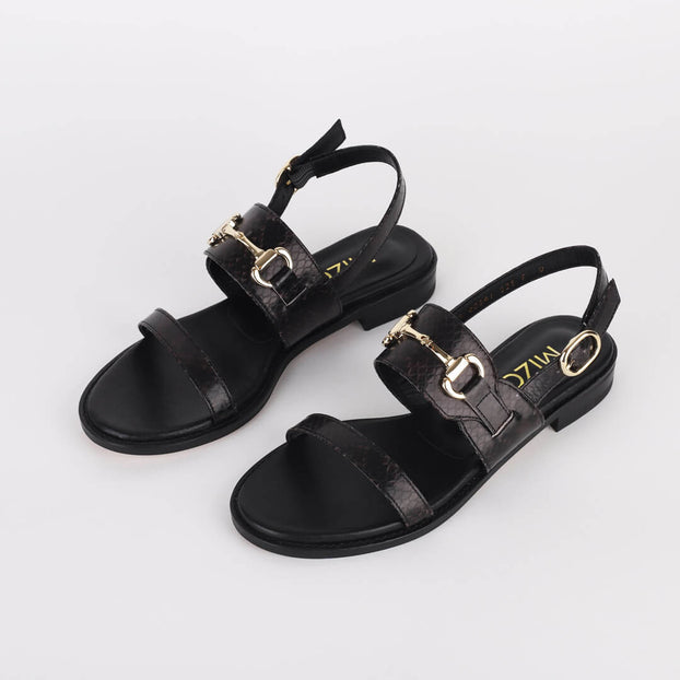 *RUBY - black, 2cm size UK 2