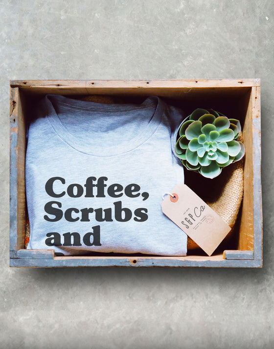 Coffee Scrubs Rubber Gloves Short-Sleeve Unisex T-Shirt