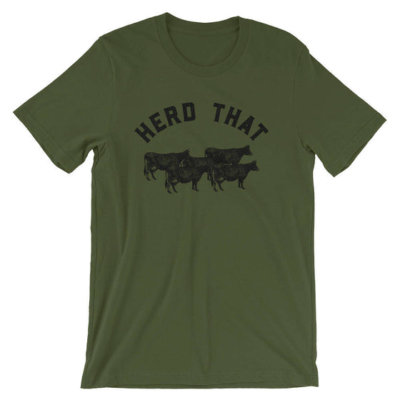 Herd That Unisex Shirt - | Farm shirt | Country Shirt | Farm Wife | Farmer shirt | Farm Life | Farming shirt | Farm girl | Cowboy
