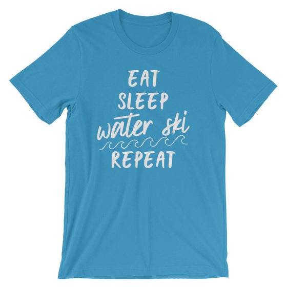 Eat Sleep Water Ski Repeat Unisex