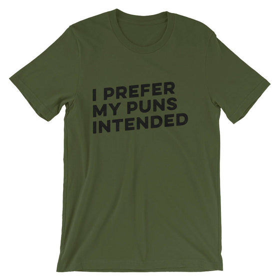 I Prefer My Puns Intended Unisex Shirt  book lover t shirts - book lover gift - bookworm gift - bibliophile - Grammar Vocabulary Punctuation