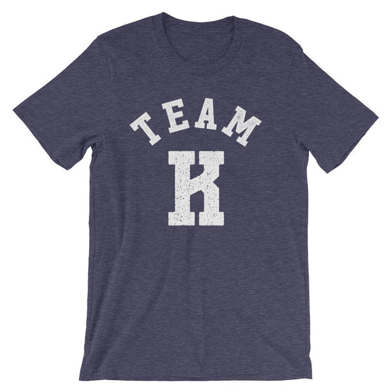 Team K Unisex T-Shirt -  | Teacher shirt | Kindergarten teacher | Teacher gift | Pre k shirt | Teacher team shirt |