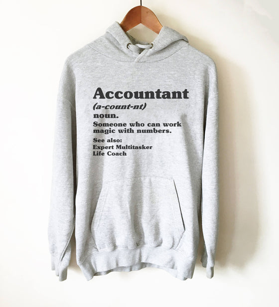Accountant Definition Hoodie