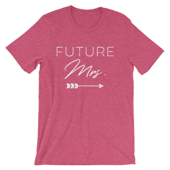 Future Mrs Unisex Shirt -  Bachelorette party, Bride shirt, Bachelorette shirts, Wedding shirt, Engagement shirt, Bridal shower gift
