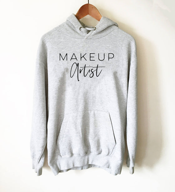 Makeup Artist Hoodie - Mascara T-Shirt, Lipstick T Shirt, Makeup Shirt, Muscles And Mascara, Lash Lipstick Shirt, Makeup Artist Shirt