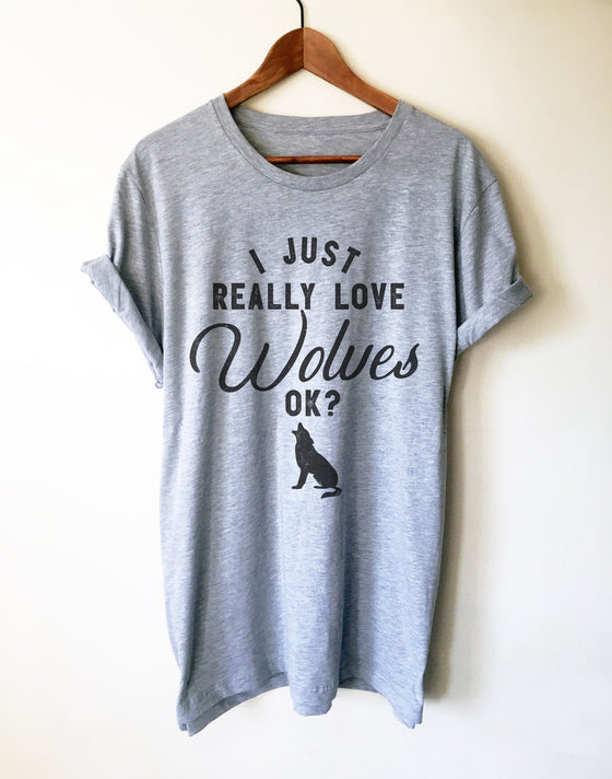 I Just Really Love Wolves OK?