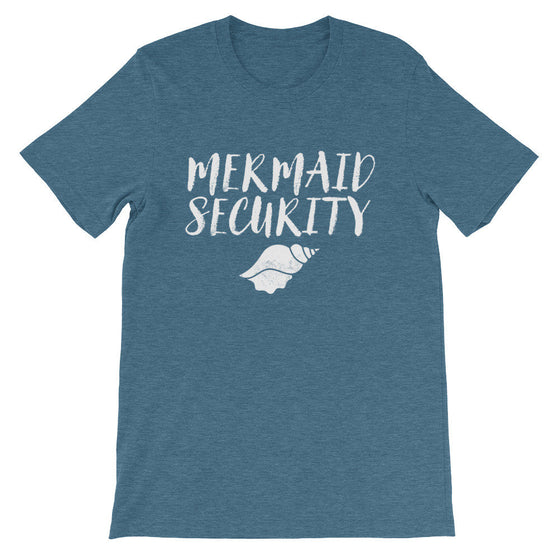 Mermaid Security Unisex Shirt - Mermaid Shirt, Mermaid Gift, Mermaid Birthday, Mermaid Party, Mermaid Tail