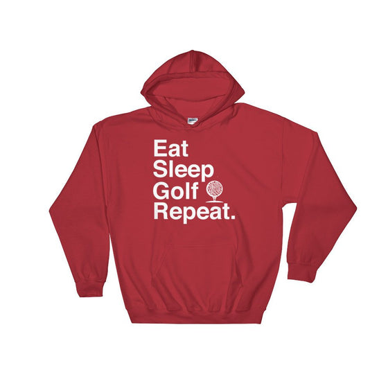 Eat Sleep Golf Repeat Hoodie - Golf Shirt, Golf Gift, Golf Birthday Party, Grandpa Golf Gift, Golf Gift For Women, Golfing Shirt