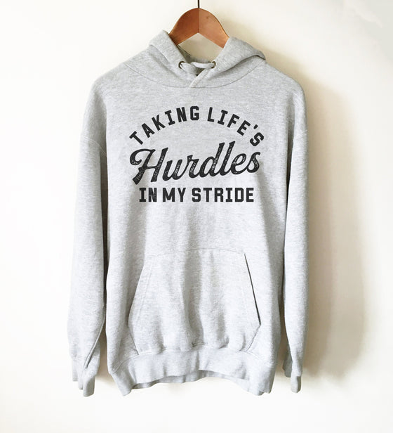 Track and Field Hoodie - Hurdles Shirt, Hurdles Gift, Track Shirt, Track Gift, Track Mom Shirt, Track and Field Shirt, Hurdler Shirt