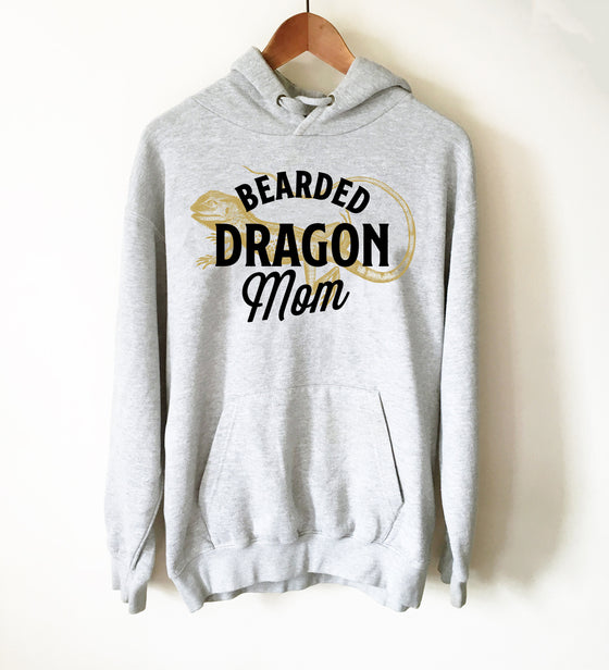 Bearded Dragon Mom Hoodie - Bearded