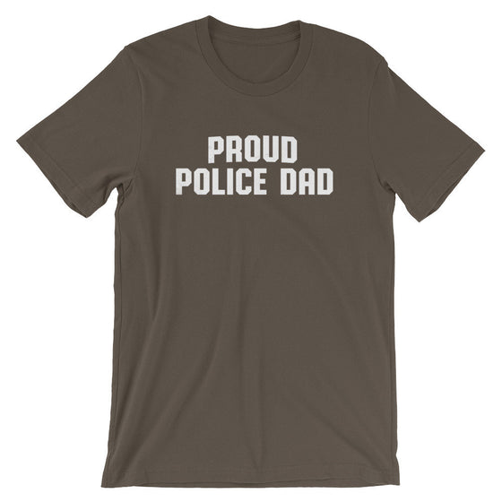 Proud Police Dad Unisex Shirt - Police Shirt, Police Gifts, Police Officer Gifts, Thin Blue Line, Police Dad Shirt, Police Dad Gift