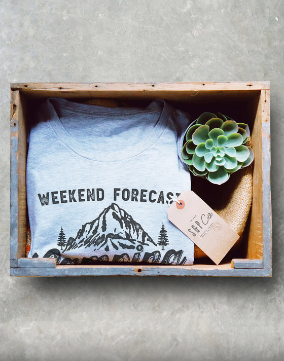 Weekend Forecast Camping With A Chance Of Drinking Unisex Shirt, Camping Shirt, Happy Camper Shirt, Mountain Shirt, Camping Gift, Road Trip