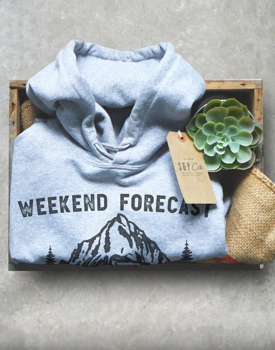 Weekend Forecast Camping With A Chance Of Drinking Hoodie, Camping Shirt, Happy Camper Shirt, Mountain Shirt, Camping Gift, Camp Shirt
