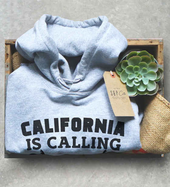 California Is Calling And I Must Go