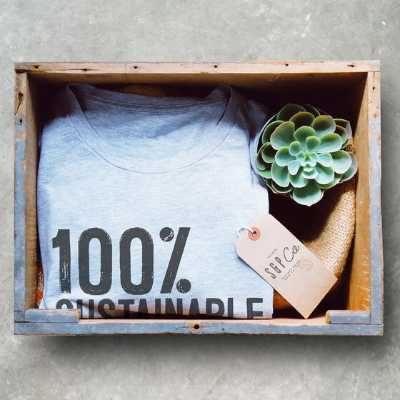 100% Sustainable Unisex Shirt