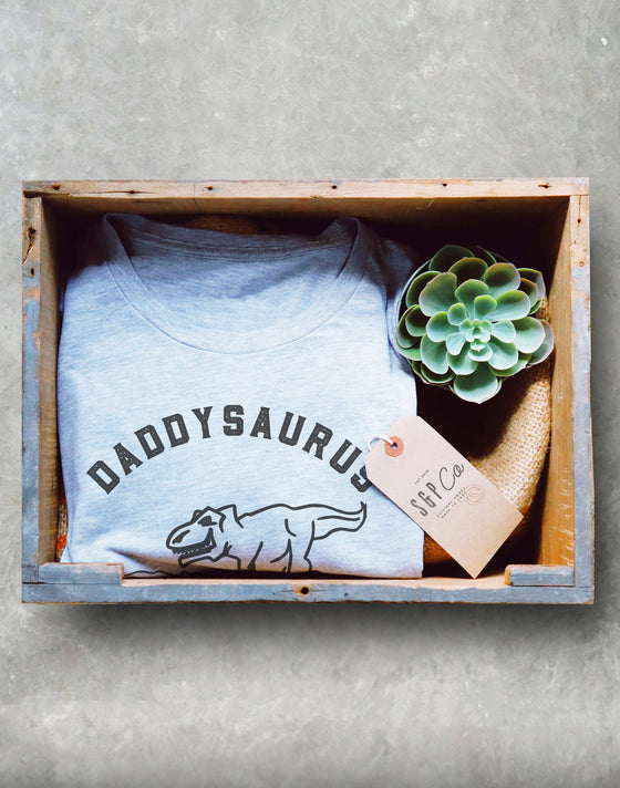 Daddysaurus Rex Unisex Shirt - Gift for Dad | Dinosaur shirt | New Dad shirt | Pregnancy Announcement shirt | Baby shower gift | Dad gift