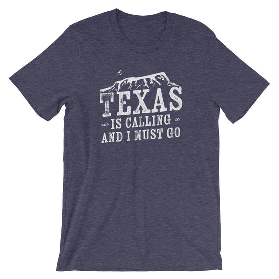 Texas Is Calling And I Must Go Unisex Shirt - Texas Shirt, Texas Gift, Texas Pride, Texas Girl, Texas State Shirt, Southern Shirt