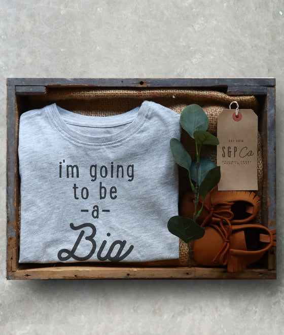 I'm Going To Be A Big Cousin Kids Short Sleeve T-Shirt - Pregnancy Announcement - Gender Reveal Party - Cousin Gift - Niece and Nephew Gift