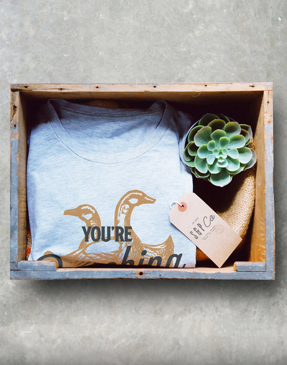 You're Quacking Me Up Unisex Shirt - Duck Shirt, Duck Gift, Farmer Shirt, Farmer Gift, Duck Hunting, Rubber Duck, Duck Lover Gift
