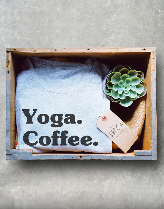 Yoga Coffee Naps Unisex Shirt - Yoga shirt, Funny namaste shirt, Hot yoga shirts, Yoga pose shirt, Yoga coffee shirt, Namaste in bed