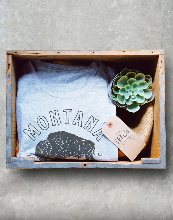 Montana Is Calling Unisex Shirt - Montana Home State Shirt, Rocky Mountains Shirt, Buffalo Gift, Yellowstone, Glacier National Park Shirt