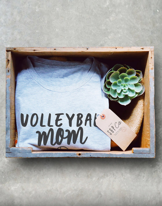 Volleyball Mom Unisex Shirt - Volleyball shirt, Volleyball mom shirt, Volleyball gift, Volleyball team, Volleyball player