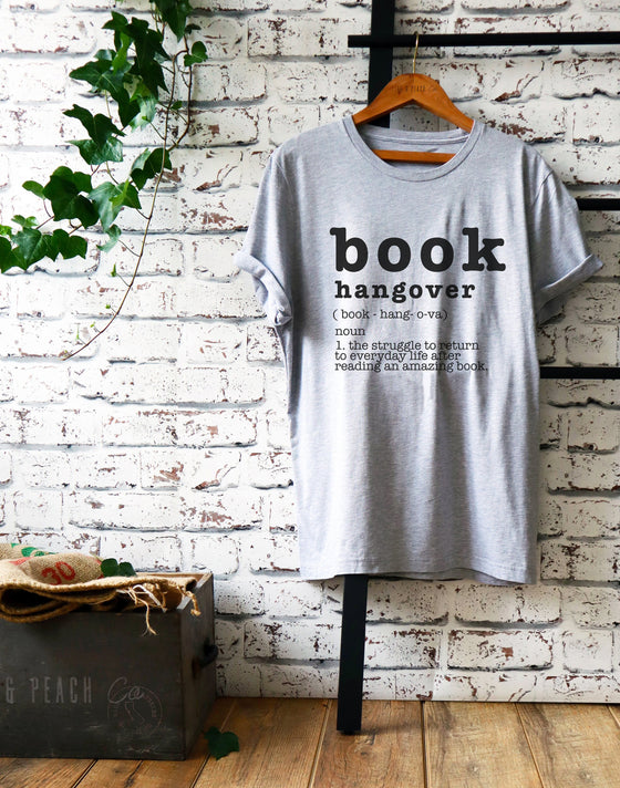 Book Hangover Unisex Shirt - Book Lover Shirt, Book Lover Gift, Reading Shirt, Book Lover Gifts, Bookworm Gift, Bibliophile Shirt