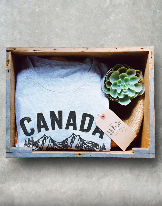 Canada Is Calling And I Must Go Unisex Shirt - Canada Shirt, Canada Gift, Canadian Shirt, Canada Day Shirt, Rocky Mountains Shirt