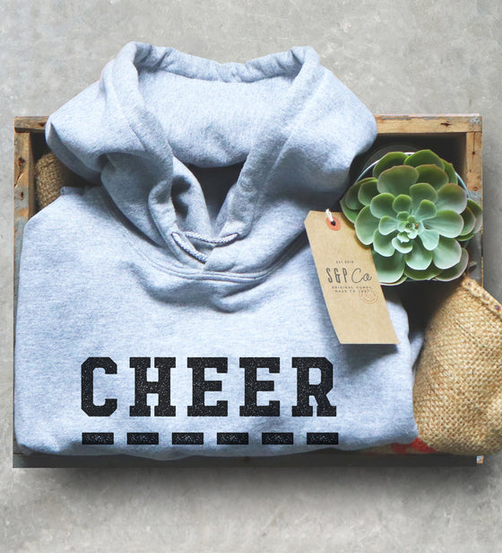 Cheer Sister Hoodie - Cheerleading Gifts, Cheer Sister Shirt, Cheer Shirt, Cheerleading Sister, Cheer Gift, Big Sister Shirt, Gameday Shirt