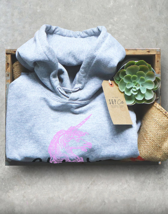 Unicorn Wife Hoodie - Unicorn T Shirt, Unicorn Gift, Unicorn Birthday, Unicorn Party, Wife Shirt, Wife Gift, Gift For Wife, Anniversary Gift