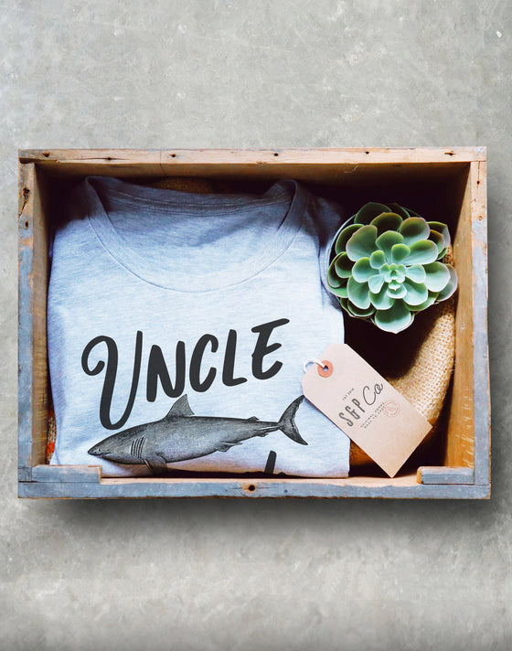 Uncle Shark Shirt - Shark Family Shirt - Uncle Shirt - Pregnancy Announcement shirt - Pregnancy reveal to uncle - Uncle gift New Uncle shirt