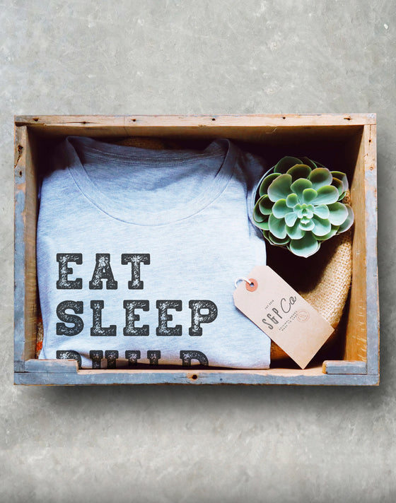 Eat Sleep Build Repeat  Unisex Shirt - Construction Shirt, Contractor Shirt, Construction Party, Builder Shirt, Fathers Day Shirt