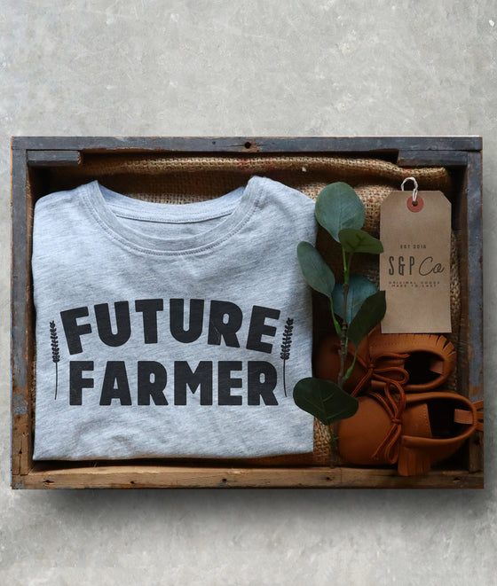 Future Farmer Kids Shirt - Farm Toddler Clothes, Farm Kids, Gift For Farmer, Farm Life Shirt, Farm Gift For Kids, Farm Birthday Shirt
