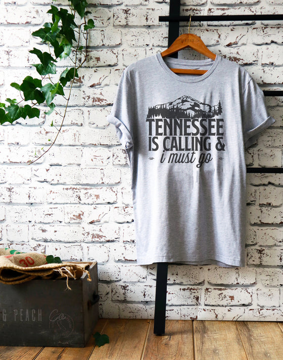 Tennessee Is Calling Unisex Shirt - Tennessee State Shirt, Nashville Shirt, Memphis Shirt, Country Shirt, State Pride Gift, Smoky Mountains