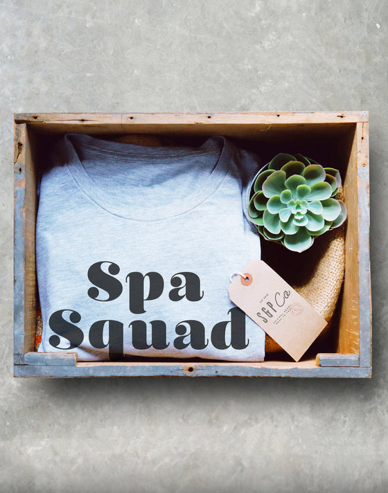 Spa Party Unisex Shirt - Masseuse Shirt, Spa Break Shirt, Birthday Shirts, Matching Couple Shirts, Best Friends Gift, Spa Day, Gift For Mom