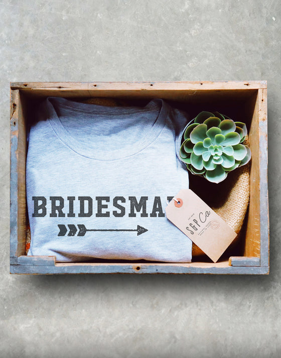 Brides Man Unisex Shirt - Man Of Honor Shirt, Bridal Party Shirts, Bridesman Shirt, GBF Shirt, Bachelorette Shirts, Bride Photoshoot Shirt
