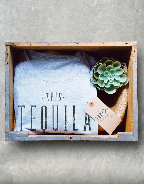 This Tequila Tastes Like I'm Not Going To Work Tomorrow Unisex Shirt - Funny Mexican Shirt, Tequila Shots Tee, Bachelorette Party Shirts