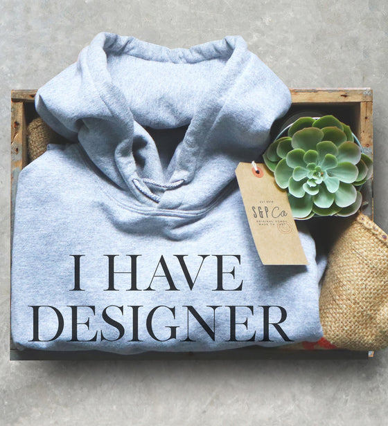 Designer Bags Under My Eyes Hoodie - Funny Gift For Mom, Tired Shirt, Mama Shirt, Coworker Gift, Mom Of Twins Shirt, Triplet Mom Tee