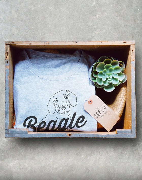 Beagle Mom Unisex Shirt -Funny