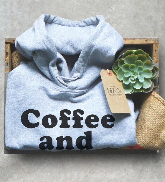 Coffee and Editing Unisex Hoodie - Photographer Shirt, Photography Gift, Editor Shirt, Blogger Shirt, Influencer Shirt, Edit Day, Camera Tee