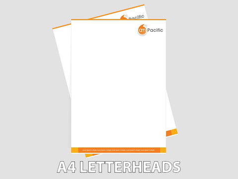 A4 Letter Headed Paper