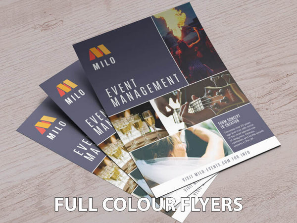 Full Colour Leaflets