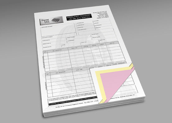 A5 NCR Pads (No Carbon Required)