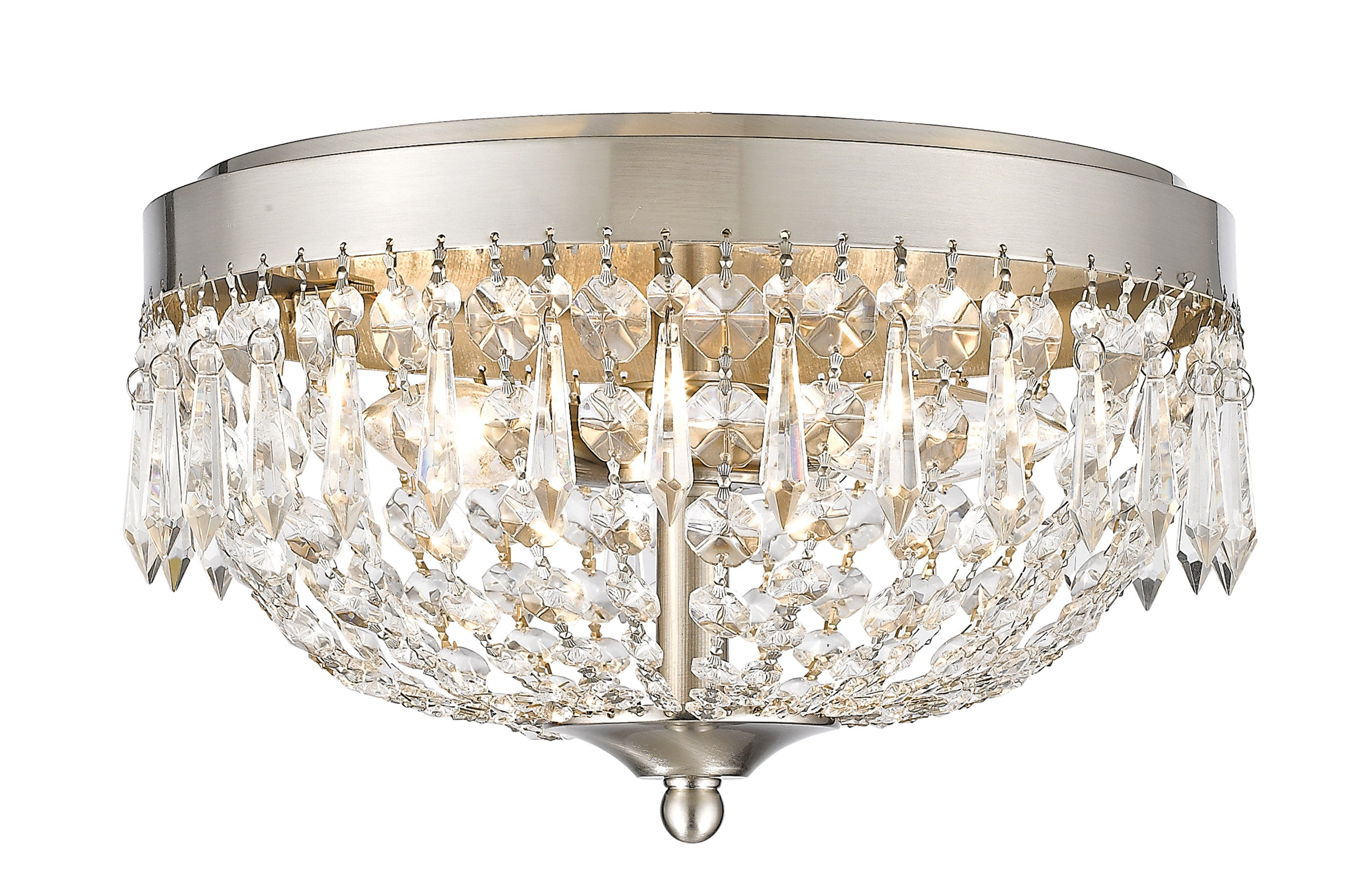 fixture decoration stylish shade crystal brushed best stained kitchen room frame light showcasing round decor stainless excellent nickel lamp home lights using as elegant in beautiful glass des panel polished ceilings flush for steel and mount adorable semi design ideas ceiling with recessed glamorous