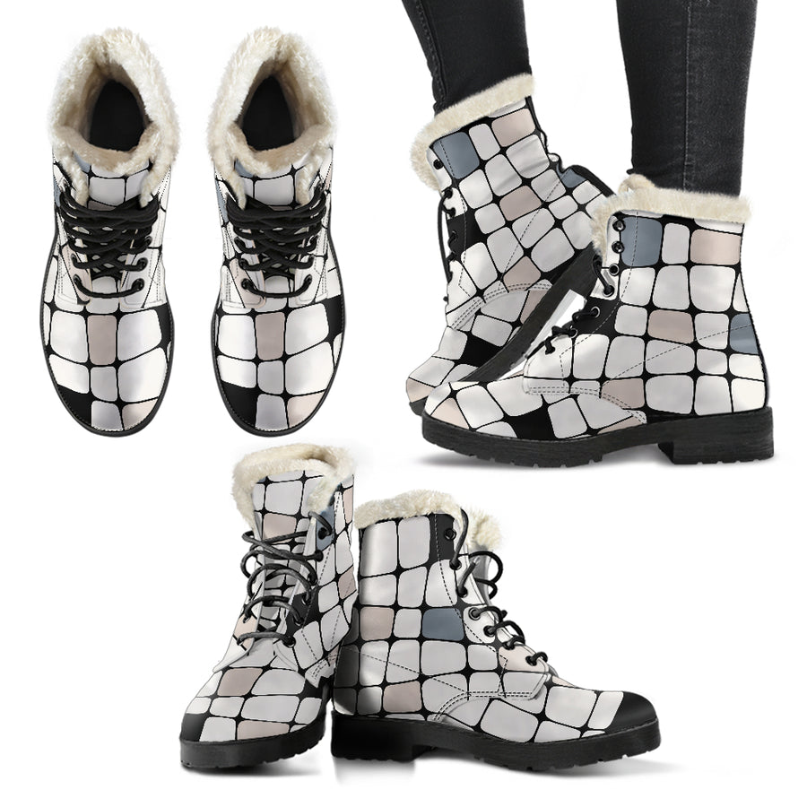 ALL IS GOOD WOMEN'S WINTER BOOTS - my cheerful design