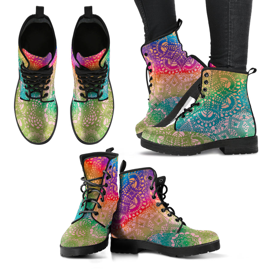 colorful life boots are boots which are composed from colors that infuse powerful positive energy's in your life